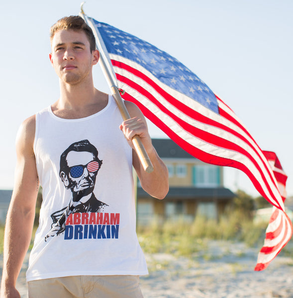 4th of July Tank Top- Noah Watts
