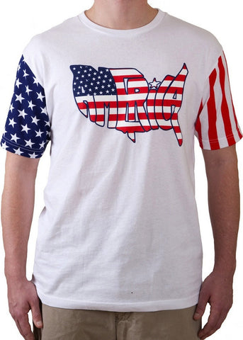 America T-Shirt United Tees