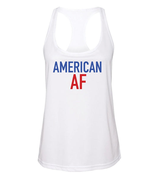 Ladies American Pride July Racerback Tank