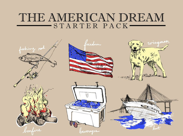 American Dream Starter Pack United Tees