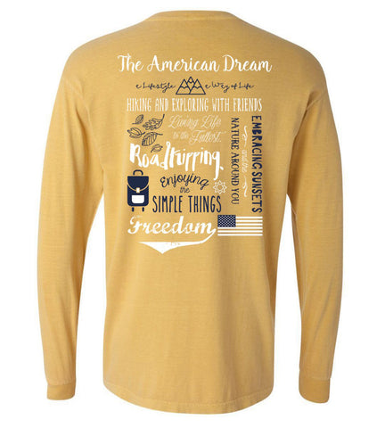 Comfort Colors Preppy Long Sleeve T-Shirt
