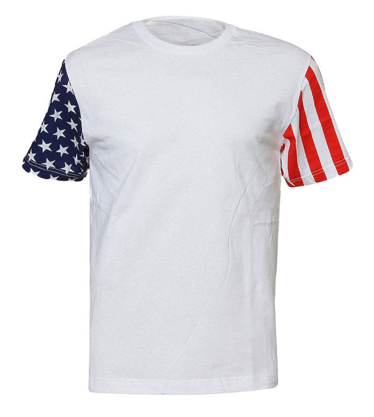 American Flag Sleeves Tee