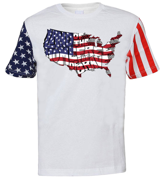 Land of the Free, Home of the Brave Tee