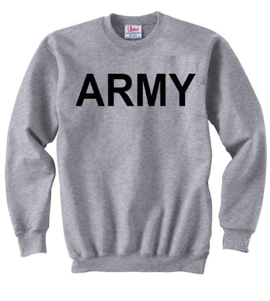Army Classic Sweatshirt- USA Military Sweatshirts
