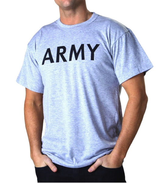 Casual Grey Army T-Shirt