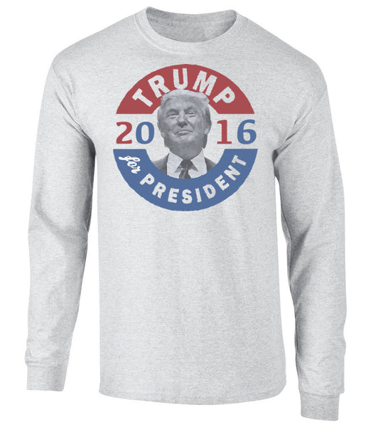 'Trump For President' Long Sleeve Tee