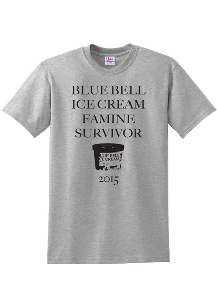 Ash Blue Bell Ice Cream Tee