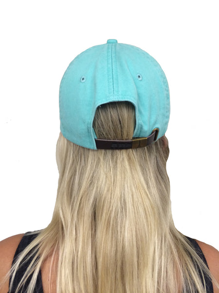 Back of a Mint Hat