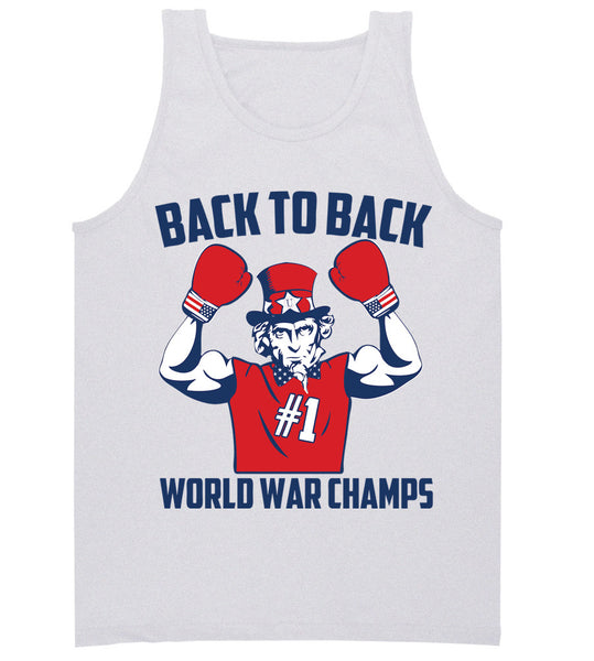 Ash Tank Top- 4th of July