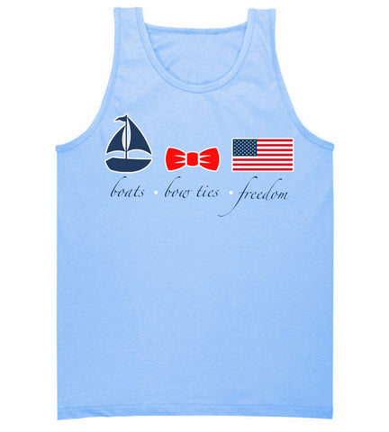 Preppy Nautical Tank Top- American Prep