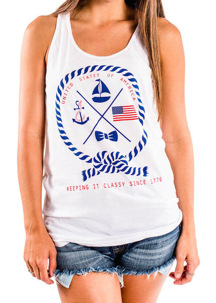 'Keeping it Classy Since 1776' Tank