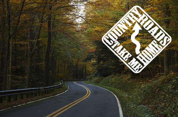 Country Road Take Me Home, USA $15 Dollar Tees