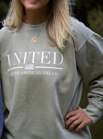 Shelby Miske- United Colligate Crewneck Sweatshirt