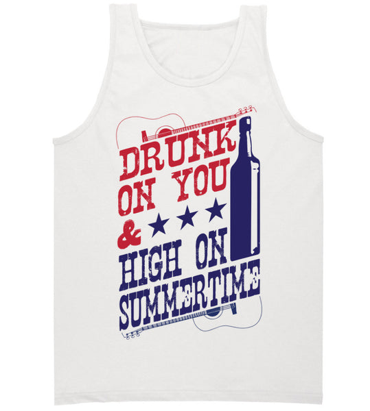 White Tank Top- Luke Bryan Summer