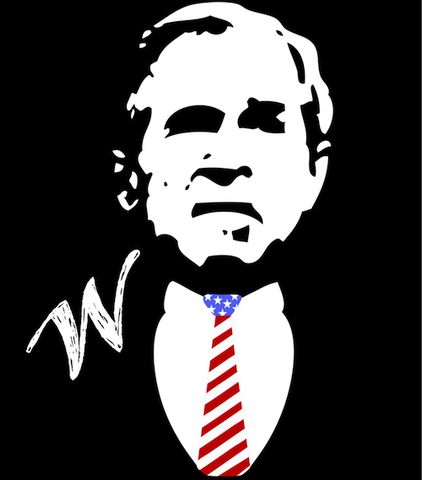George Bush Tank Top, United Tees
