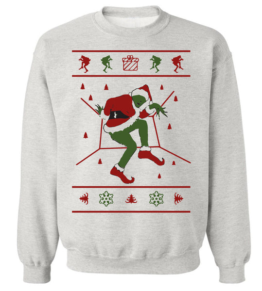 Grinch Christmas Sweater.Grinch Hotline Bling Ugly Christmas Sweater