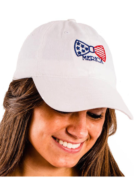 Preppy & Patriotic Bow Hat