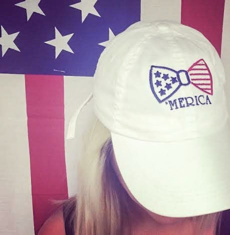 'Merica Bow Baseball hat