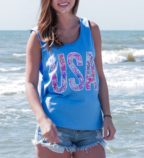 United Preppy Tank Top