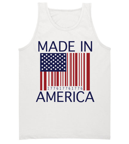 Made In America 4th of July Tank Top
