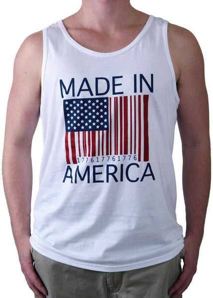 Made in America American Flag Tank Top