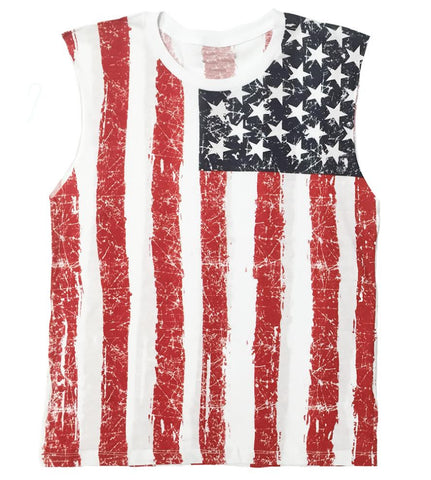 American Flag Muscle Tank for Men