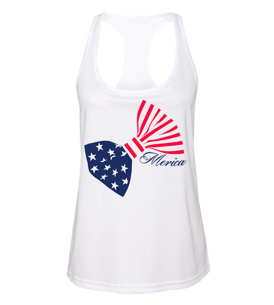 Racerback Tank 4th of July