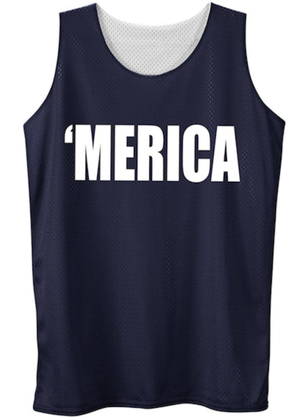 Men's 'Merica' Pinnie (XL & 2X Only)