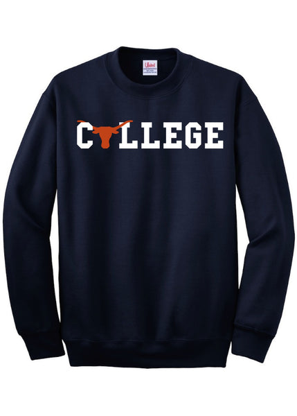 Longhorn Football College Texas Sweatshirt