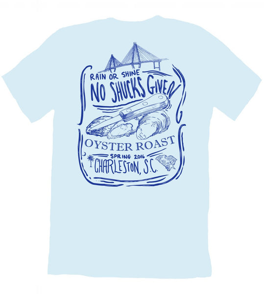 Funny Oyster Roast T-Shirt, Charleston