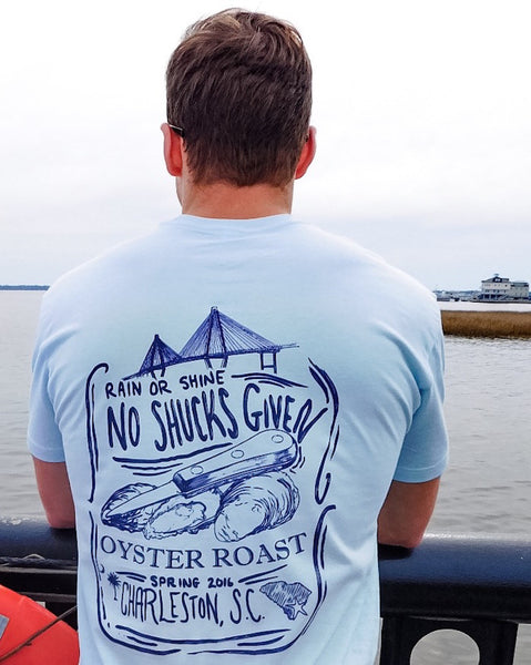 Preppy Charleston T-Shirt, Oyster Roast Flyer