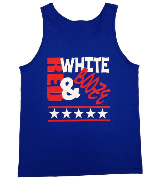 4th of July Drinking Tank Top