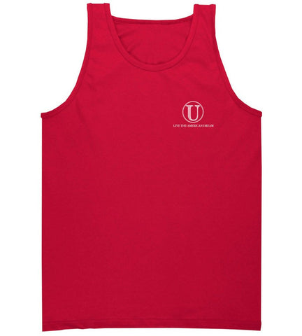 Red United 'Live the American Dream' Tank Top