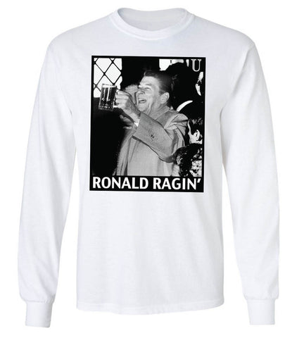 'Ronald Ragin' Long Sleeve Tee