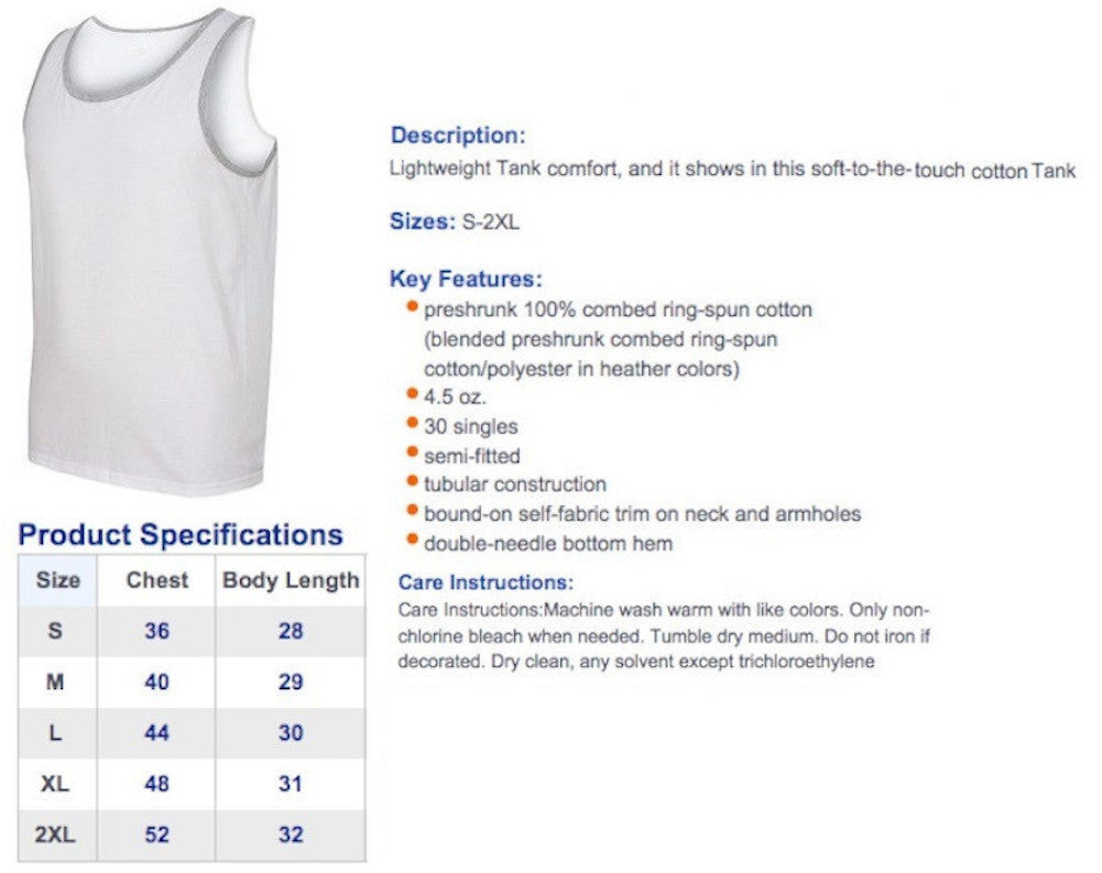 United we stand tank top united tees size chart nvjuhfo Gallery