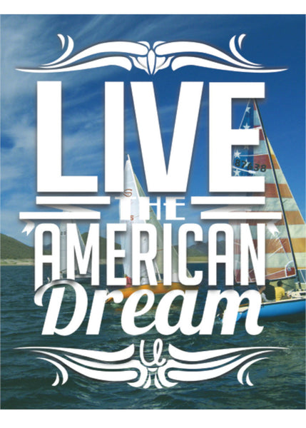 Sail Boat Preppy American Dream Lifestyle