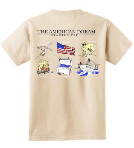 'American Dream Starter Pack' Tee