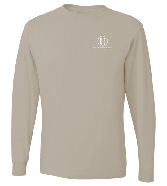 United Tees Logo Tee Sandstone Comfort Colors