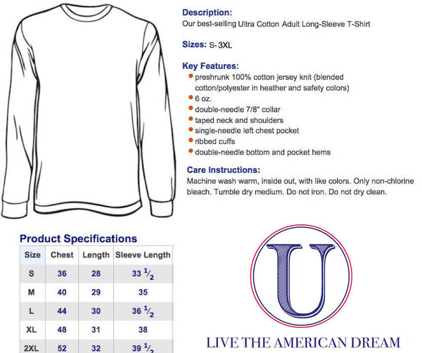 Statue of Liberty 'World Champs' Long Sleeve