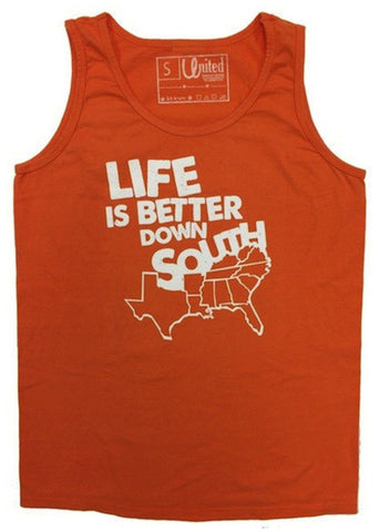 'Life is Better Down South' Tank Top