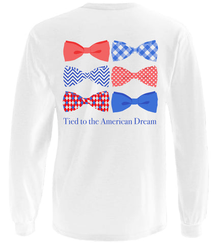 Tied To The American Dream Long Sleeve