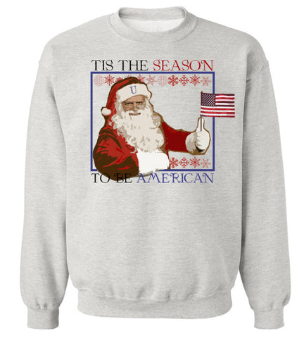 Ash Grey Santa Clause Sweatshirt