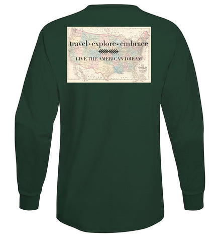 Travel, Explore, Embrace Long Sleeve