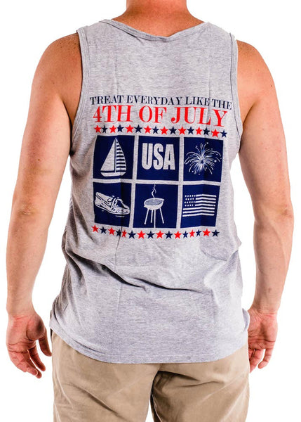 4th of July All Year Round-Treat Everyday Like the Fourth of July USA Boats Grill