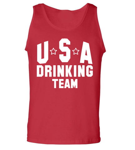 Team Tank Tops Beer Olympics