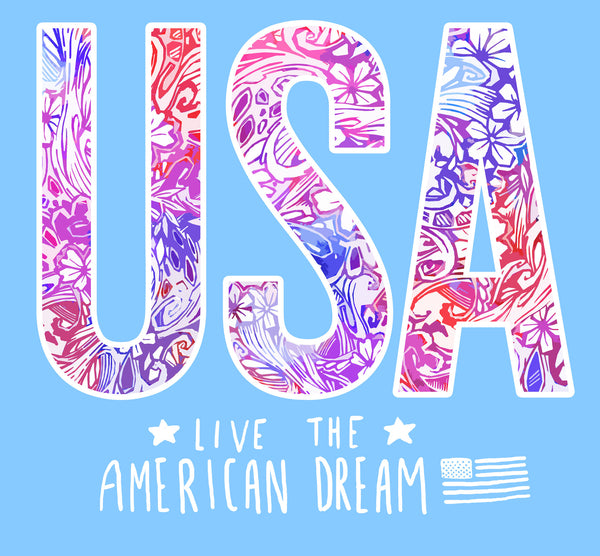 Preppy USA Live the American Dream