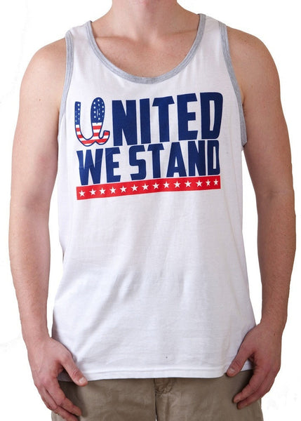 'United We Stand' USA Tank Top