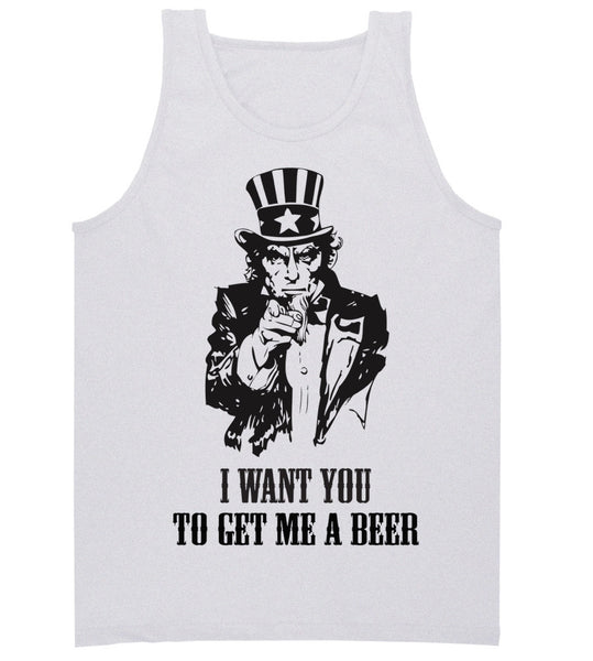 'Uncle Sam' Tank Top