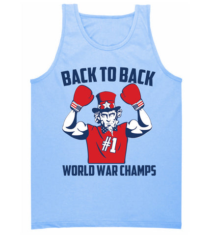 America is World Champs Tank Top