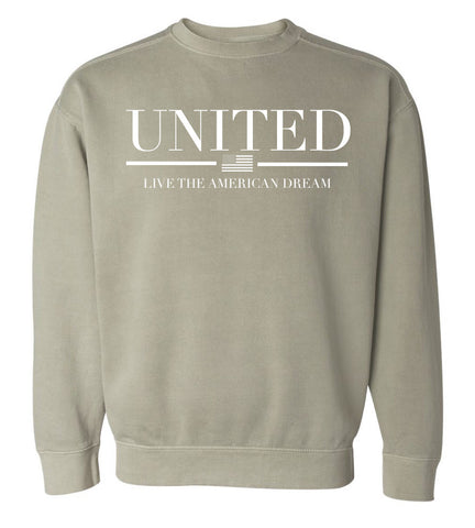 United-Live the American Dream Crew Neck